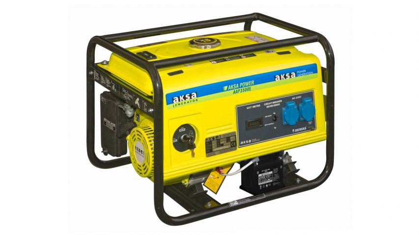 Aksa AAP 3500 E Marşlı 3.5 kVA Benzinli Jeneratör